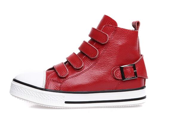 black 2018 Turnschuhe white Red Komfort Fashion Schuhe Leder Herbst Drop C250 Verschiffen Weibliche Freizeit Haken Frau Koreanische Echtes Schleife Beiläufige Kuh 5wxRqvH