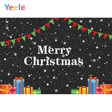 Yeele Merry Christmas Photozone Fallen Snow Glitter Photography Backdrop Personalized Photographic Backgrounds For Photo Studio