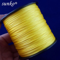 500M SUNKO Brand Super Strong Japanese Multifilament PE Material Braided Fishing Line18 30 40 50 60