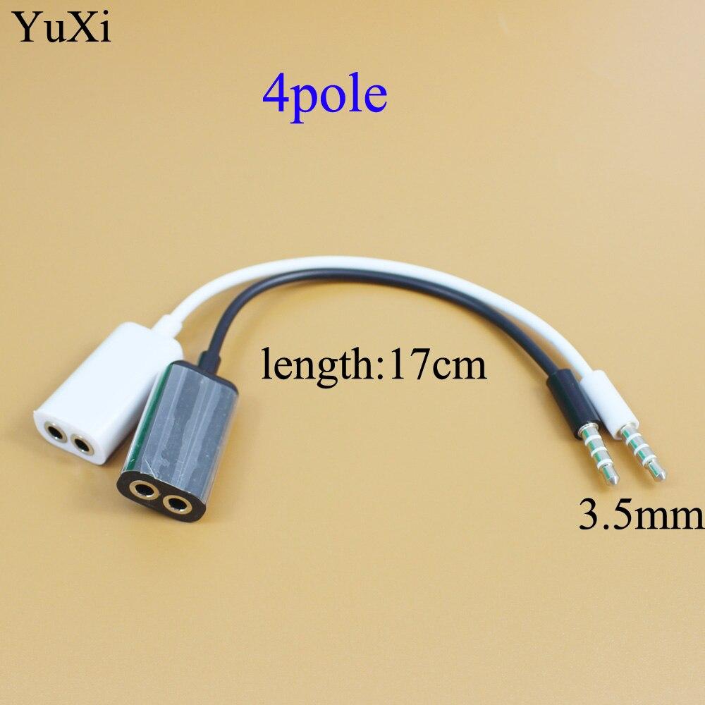 1 Stecker Auf 2 Weibliche 3,5 Jack Aux Audio Kabel Kopfhörer Splitter Für Apple Iphone 4 5 5 S 6 6 S 7 Plus Ipad Ipod Laptop Mp3 Lautsprecher Einen Einzigartigen Nationalen Stil Haben