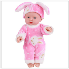 12''30CM Kids Toys Soft Silicone Reborn Baby Realistic Vinyl Doll Black Reborn Babies Dolls with Clothes for Girls new 20 inches doll reborn soft vinyl kawaii reborn baby dolls with clothes newborn realistic babies reborn dolls babies toys
