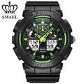 Fashion SMAEL 50M Waterproof Electronic Watch Digital Quartz Watches Sport  Reloj Hombre Casual Mens Wrist Watch Present 1027
