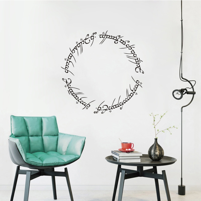 Lord Of The Rings Wall Decal Home Decor Vinyl Movie