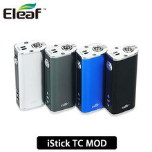 100% TC Original Eleaf iStick 40 W Caja Mod 2600 mAh Apoyo Control de Temperatura TC40W Batería Mod con Pantalla OLED TC-Ni/VW Modo
