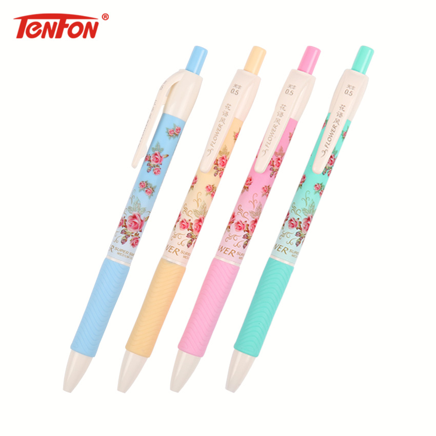 Ballpoint Pens Symbol Of The Brand 5pcs Cute Candy Color Children Writing Pen Innovative Bracelet Ballpoint Pen Flexible Gel Pen School Supplies Office Accessories Pens, Pencils & Writing Supplies