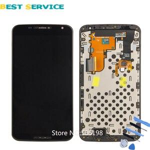 Image 1 - 100% ทดสอบ LCD สำหรับ Nexus 6 หน้าจอสำหรับ Motorola Moto Nexus 6 XT1100 XT1103 จอแสดงผล LCD กรอบ digitizer ASSEMBLY
