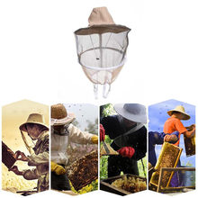 Anti Bee Face Mask Hat beekeeping hat Protector Cap Beekeeper Fly Insect Net Cowboy moustiquaire jardin useful beekeeping hat(China)