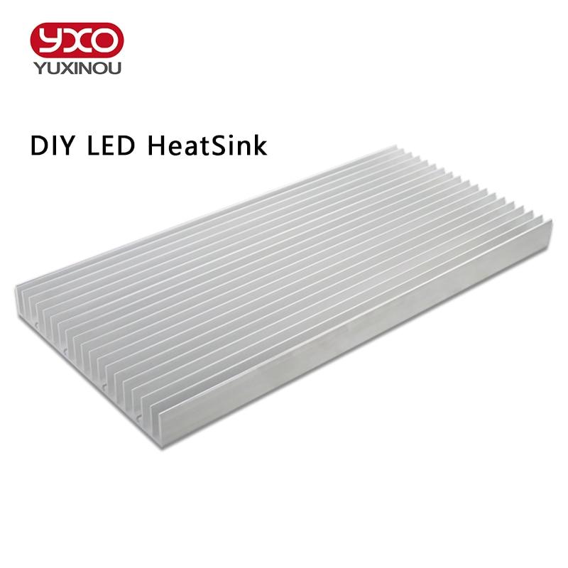 DIY High Power LED aluminum Heatsink radiator heat sink DIY 9W 15W 18W 30W 60W aquarium led light, diy led grow light