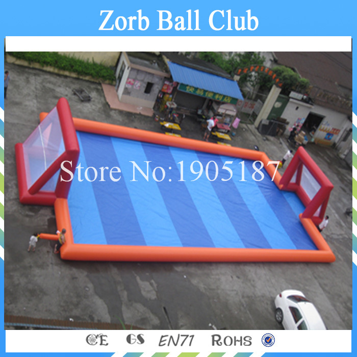 Free Shipping Inflatable Football Pitch,Inflatable Arena, Inflatable Football Field With Floor free shipping free pump portable inflatable soccer field inflatable football court inflatable football field for sale