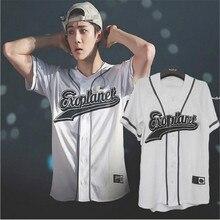 EXO Planet 3 EXOrDIUM T-shirt In Seoul KPOP Unisex BUTTON DO