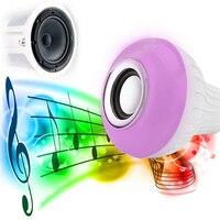 BCMaster 12 W LED Altoparlante Intelligente RC Remote Control Lampadina A Distanza Senza Fili di Bluetooth Music Play Regalo di Luce di Colore