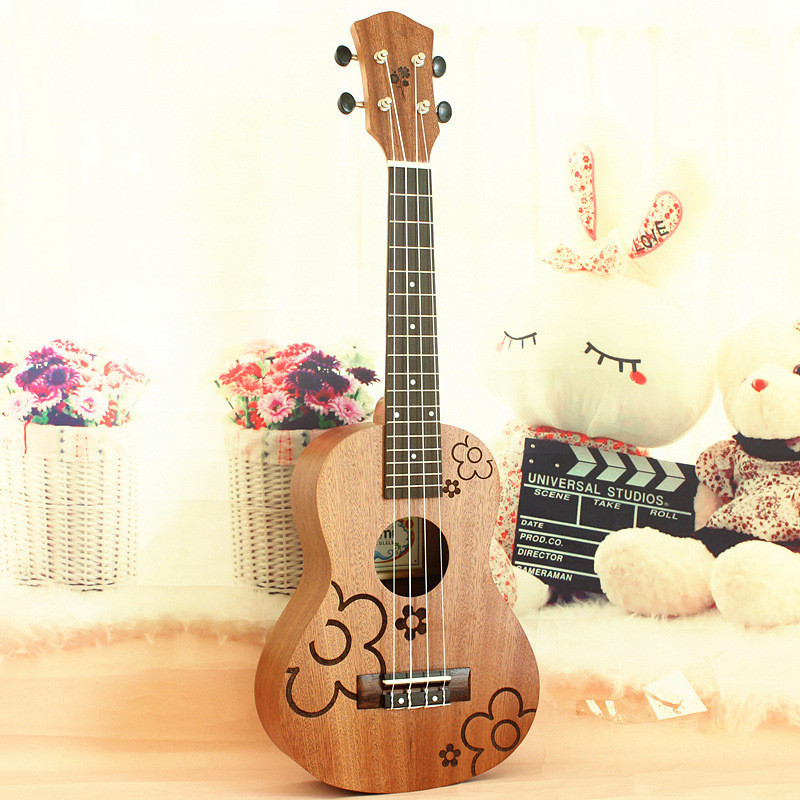 21 Ukulele Acoustic guitar 21-2 Rosewood Fretboard 4-strings guitarra musical instruments Wholesale pattern thicken waterproof soprano concert tenor ukulele bag case backpack 21 23 24 26 inch ukelele accessories guitar parts gig