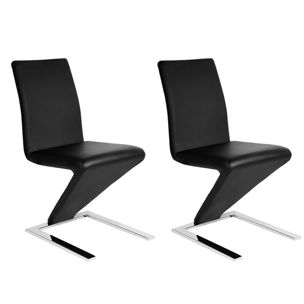 Aliexpress Mermaid Dining Chair Faux Leather Z Shape 2pcs Lot Room Red Black White Hot From Reliable Chairs