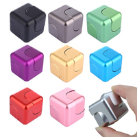 Fidget Cube Square Fidget Spinner Hand Finger Spinner High Speed Relieves Stress And Anxiety Attention Decompression