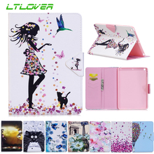 Painted PU Leather Case For iPad Air iPad 5 9.7 inch Tablet Cover For iPad Air iPad 5 A1474 A1475 A1476 Protective Tablet Cases