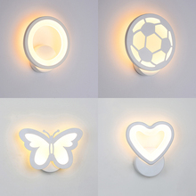 7 Shape Wall Light Lamp Light Living Room Corridor Bedside Wall Lamps Night Lights living room decoration led wall lamp 220V
