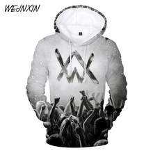 WEJNXIN Fashion 3D Alan Walker Music DJ Hoodies Men Women Pullover Sweatshirts Streetwear Tracksuits Sudadera Hombre