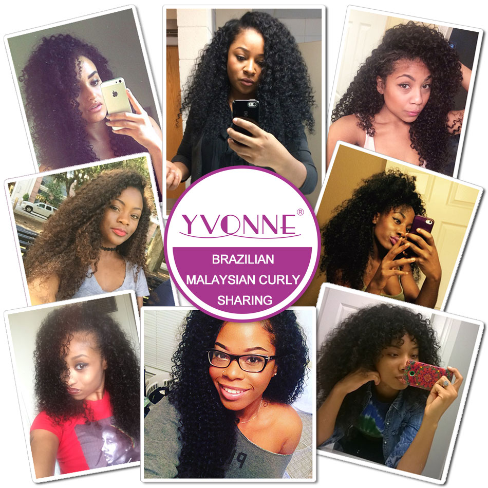 Grade 7a Brazilian Virgin Hair Malaysian Curly 3pcs Lot Human Weave Aliexpress Yvonne Unprocessed In Weaves From