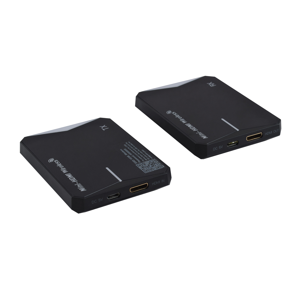 2.4G/5GHz double fréquence 1080P mini sans fil hdmi ir extender jusqu'à 60 m/196FT pour HDTV ordinateur portable PC Blu-Ray etc, prise en charge USB powe
