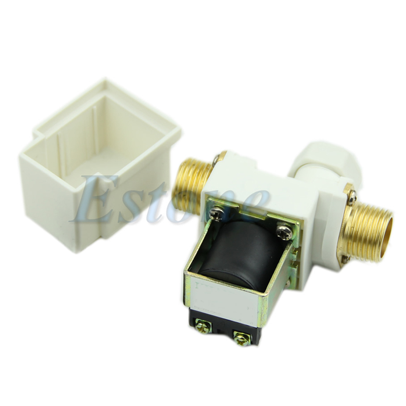 Hot N/C DC 12V 0-0.8MPa 1/2 Electric Solenoid Valve for Water Air shgo hot 2w 200 20 3 4 inch brass electric solenoid valve water air fuels n c dc 12v