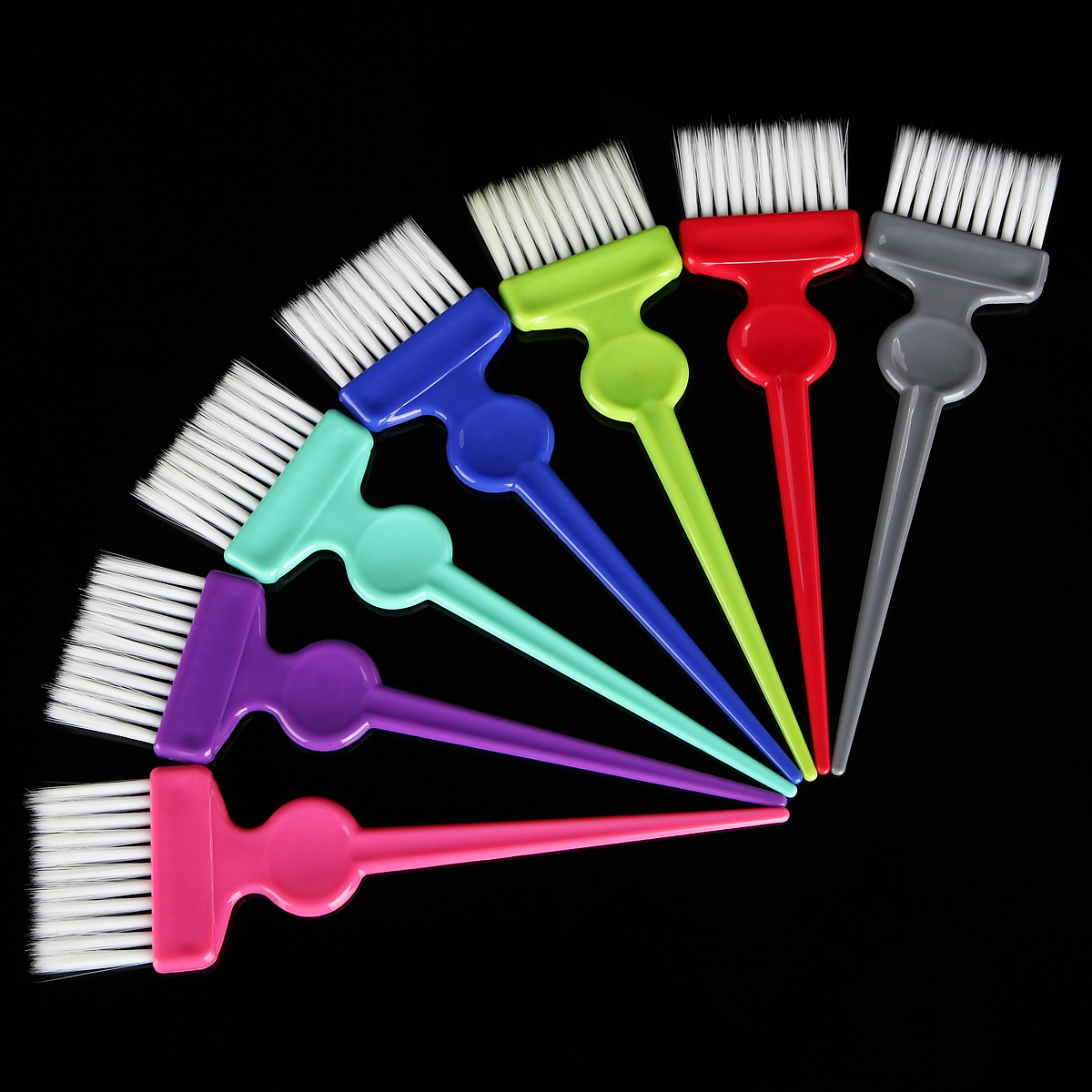 1pcs Plastic Hair Dye Coloring Brush Barber Salon Tint Hairdressing Styling Tools Hair Color