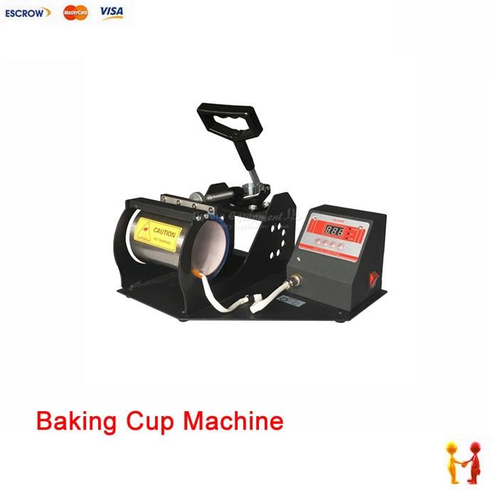 (NO TAX TO Russia) Digital heat transfer baking cup machine mug heat press machine digital heat transfer baking cup machine single display quaff