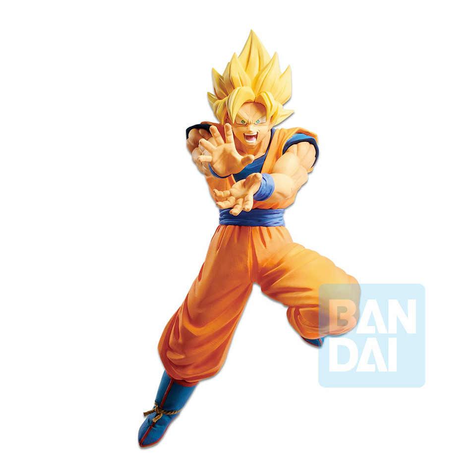 Tronzo Original Banpresto Action Figure Limited Edition Dragon Ball Z Son Goku SSJ Kamehameha DBZ PVC Modelo Figura Boneca Brinquedos