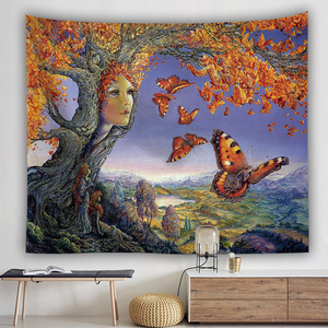 Image 2 - ليلة النجوم نسيج فان جوخ مجردة اللوحة جدار الفن ثلاثية الأبعاد الأزرق الجدار الشنق نسيج ديكور المنزل حجم كبير نسيج