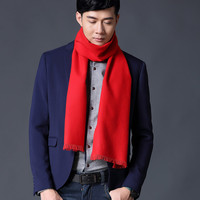 Spring And Autumn Winter Men S Korean Wild Style Long Scarf Brand Scarf Men S Models