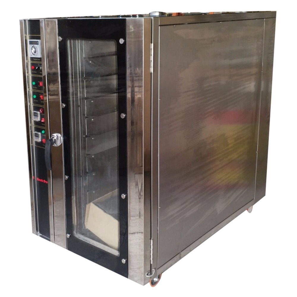 10 Trays Commercial Gas Baking Air Circulating Hot Blast Bread Mooncake Convection Oven Stove