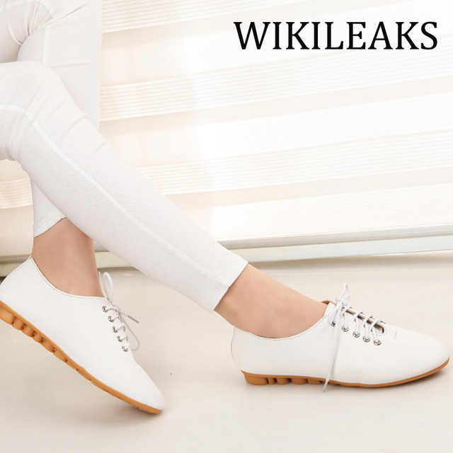 Cute PU Leather Luxury Brand Ladies Flat Platform Shoes Woman Fake Shoes Zapatos Mujer Designers Sapato Feminino Loafers WC008
