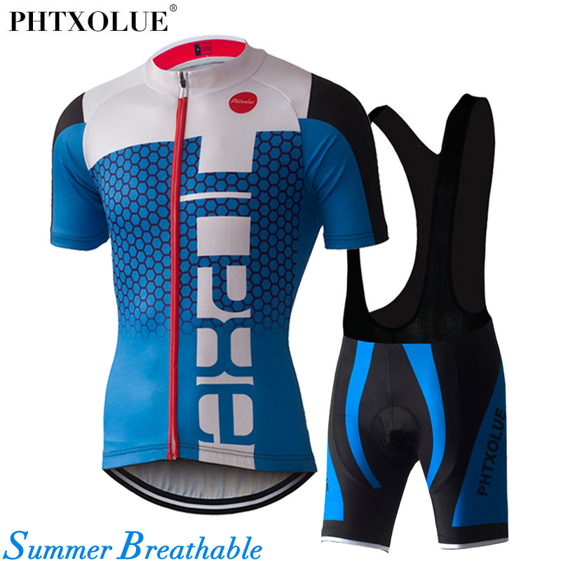 PHTXOLUE Men Cycling Sets Mtb Jersey Mountain Bike Clothes Ropa Ciclismo 2017 Maillot /Wear Summer Cycling Clothing рубашки