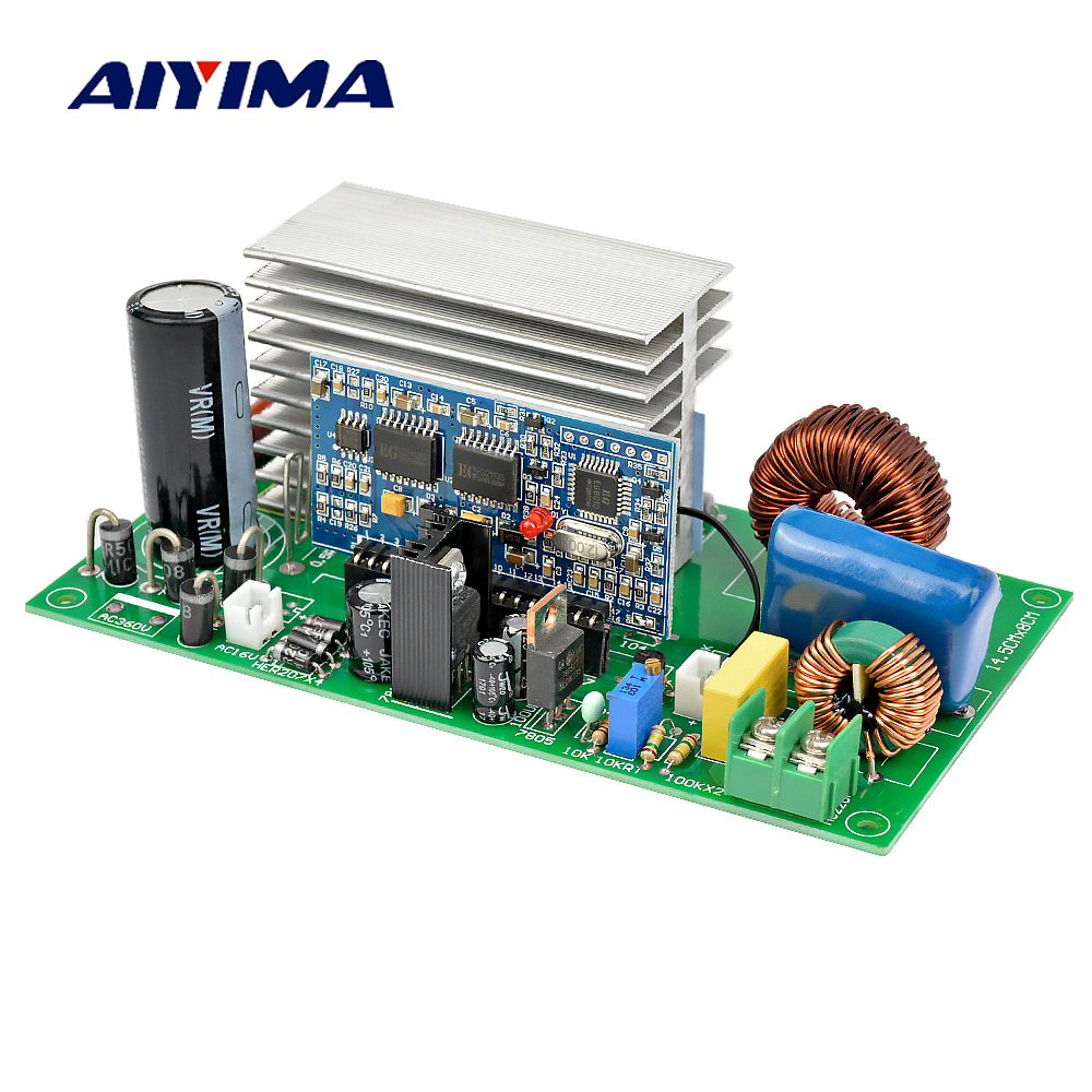 Aiyima Pure Sine Wave Inverter Rear Board 500W 800W 1200W 1800W Universal Board Self contained Rectifier Finished Board