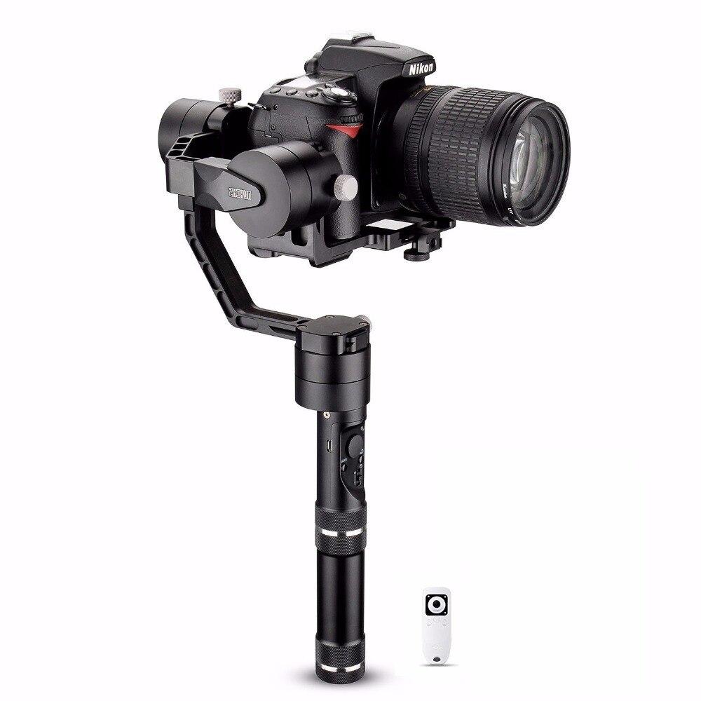 Zhiyun Crane V2 Axis Handheld Gimbal Stabilizer with Wireless Remote Controller 360 Motors Degree Moving Gimbal for DSLR Cameras zhiyun crane 3 axis handheld gimbal stabilizer 360 motors degree moving gimbal vs beholder ds1 ms1 nebula 4000 lite for dslr
