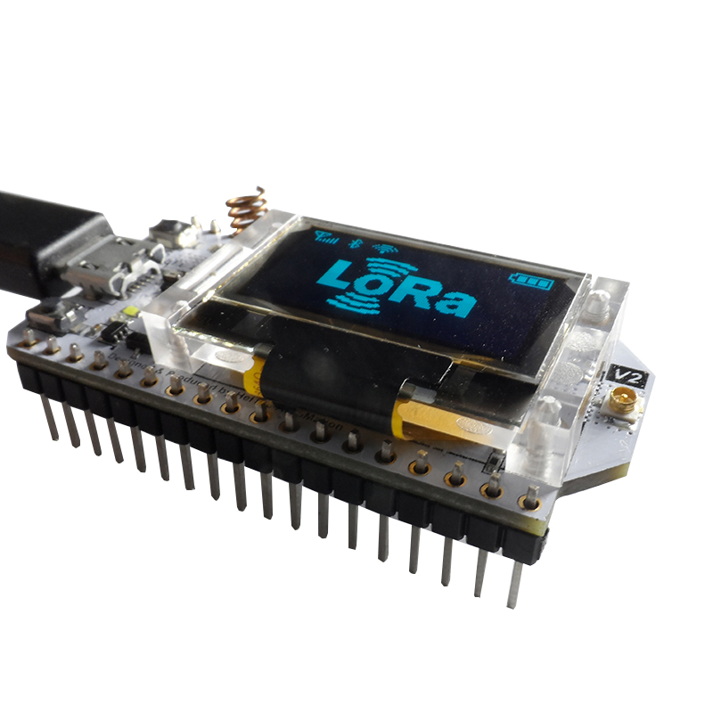 LoRa ESP32 0 96 Inch Blue OLED Display SX1278 Bluetooth WIFI Lora Kit 32  Module Internet Development Board for Arduino w/Antenna