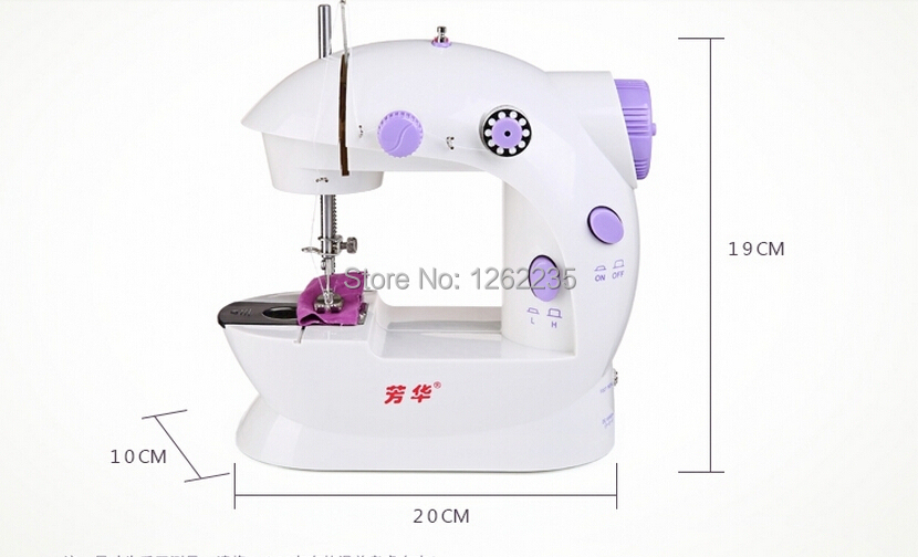 202 petit ménage électrique machine à coudre pied mini bureau multifonction Miniature machine à coudre