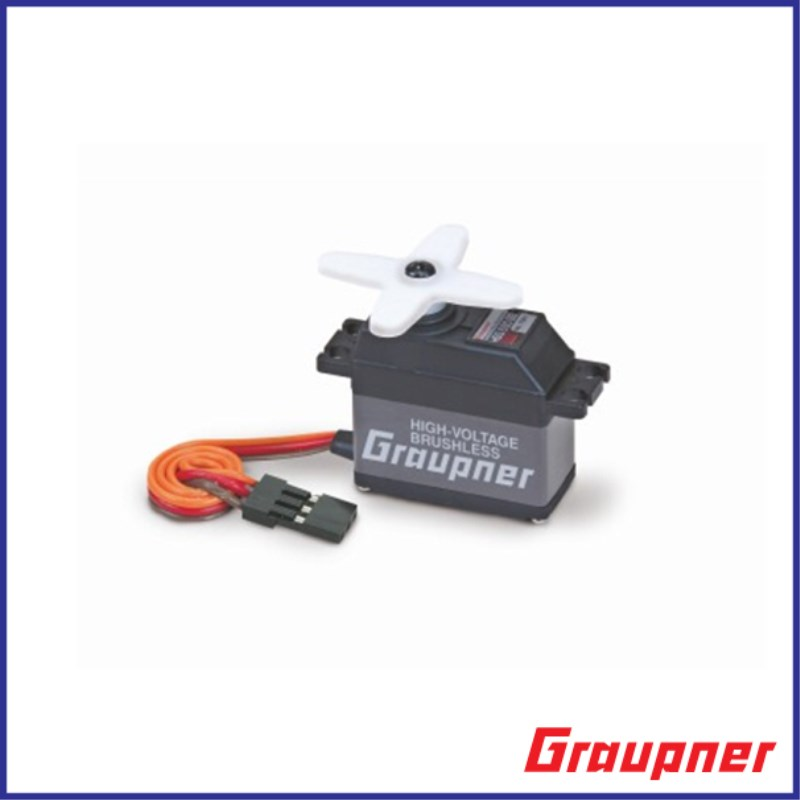 Graupner HBS 690 BB High Speed 16mm HV BL Digital Servo For RC Helicopter Model Airplanes