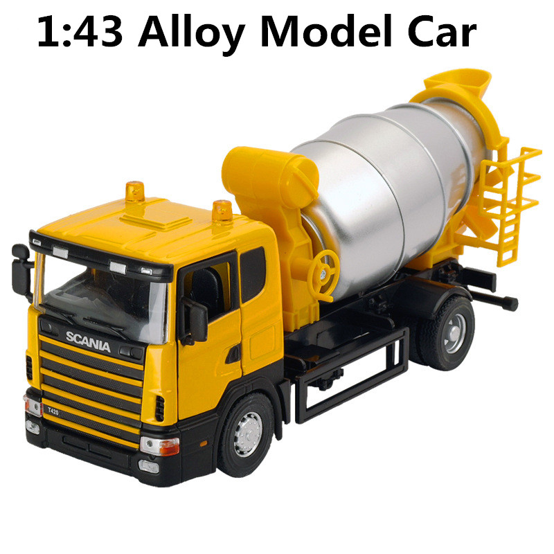 1:43 alloy car models, high simulation dumpers model, children's educational toys, free shipping