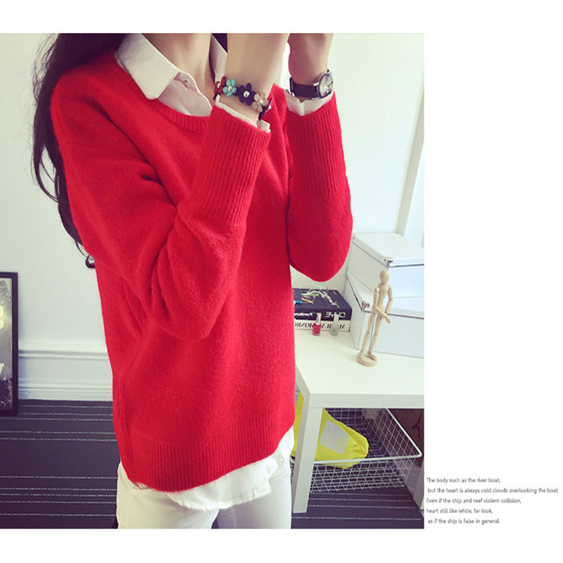 In 2017, 8 colors of sweater women will be able to sell their long-sleeved, long-sleeved jumpers in 2017 sweater cashmere