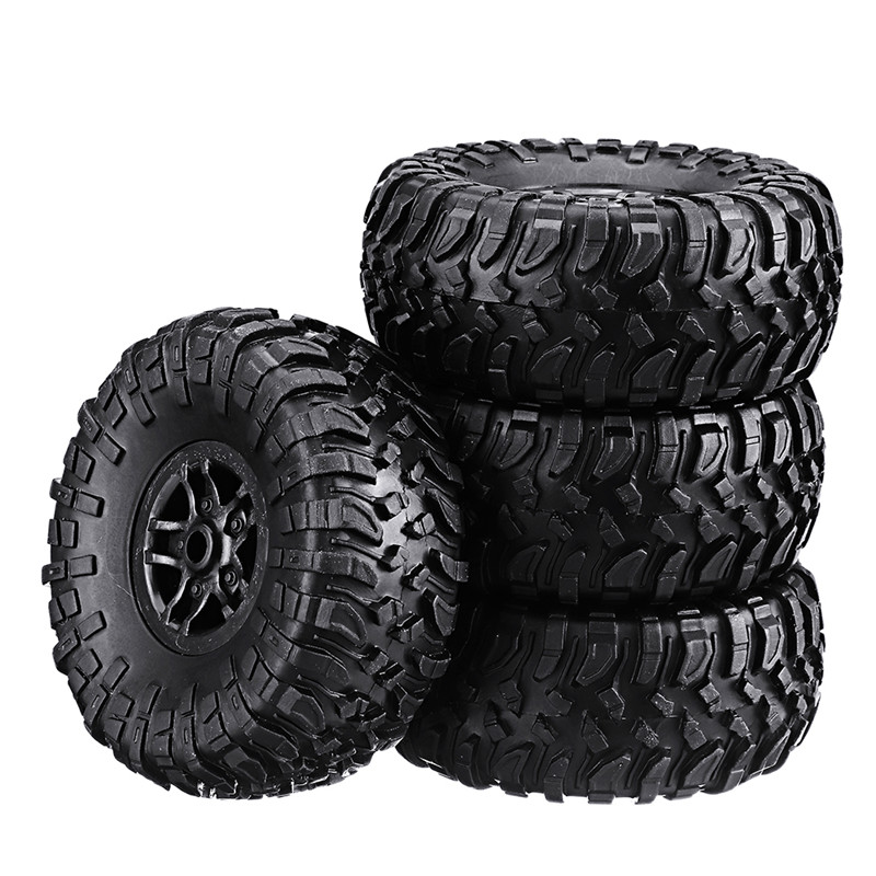 4PCS MN-90 1/12 Rc Car Spare Parts Rubber Wheel Rim Tires Spare Part Accessories for Vehicle Toy Outdoor Toys For Boy Toys Gifts