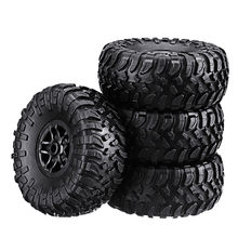 4PCS MN-90 1/12 Rc Car Spare Parts Rubber Wheel Rim Tires Spare Part Accessories for Vehicle Toy Outdoor Toys For Boy Toys Gifts(China)