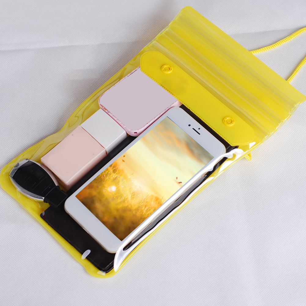 Phone Storage Wallets Cosmetics Eco-friendly Dustproof Waterproof Dry Outdoor Swimming Bag Keys Songkran Festival Beach Rafting