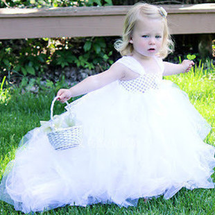 Baby Ball Gown For Wedding White Girl Tutu Dress Birthday Party Dresses Girls Christening Pageant Gowns Vestidos In From Mother Kids