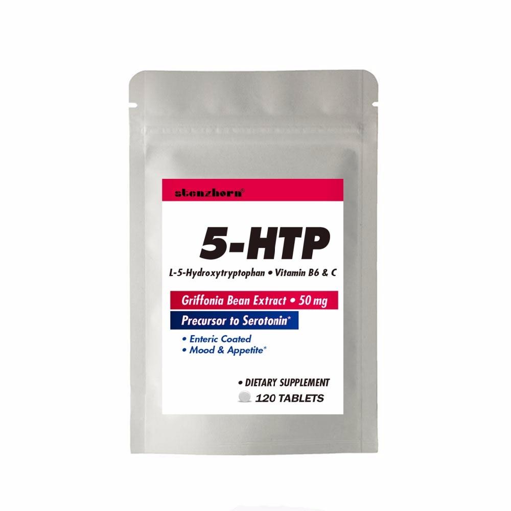 5HTP 50Mg 120Pcs  Relaxing, Promotes Positive Mood