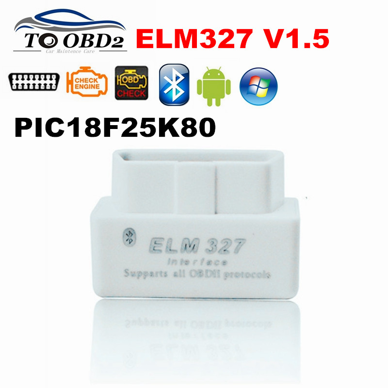 Hardware-Supports Pic18f25k80 Chip V1.5 Elm 327 Android/symbian Cars Bluetooth More V2.1