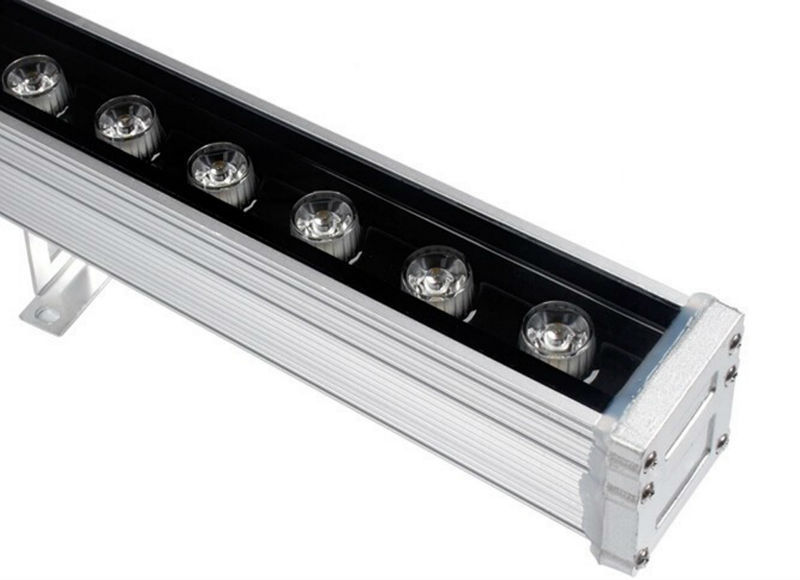 ФОТО 18W Remote RGB LED Wall Washer RGB 85-265V RGB Remote Control 16 Colors Change Lamp 50000h landscape light