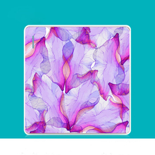 86 Switch Socket Panel Fresh Personality Creative Art Bloom Purple Powder Series PC 220V 10A
