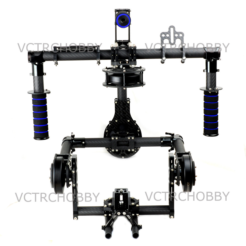 Hand 3 Axis Red EPIC SCARLET Brushless Gimbal Stabilize Stabilization with  8108-90T (36N-42P) Motor secret key chubby jelly tint pack scarlet red цвет scarlet red