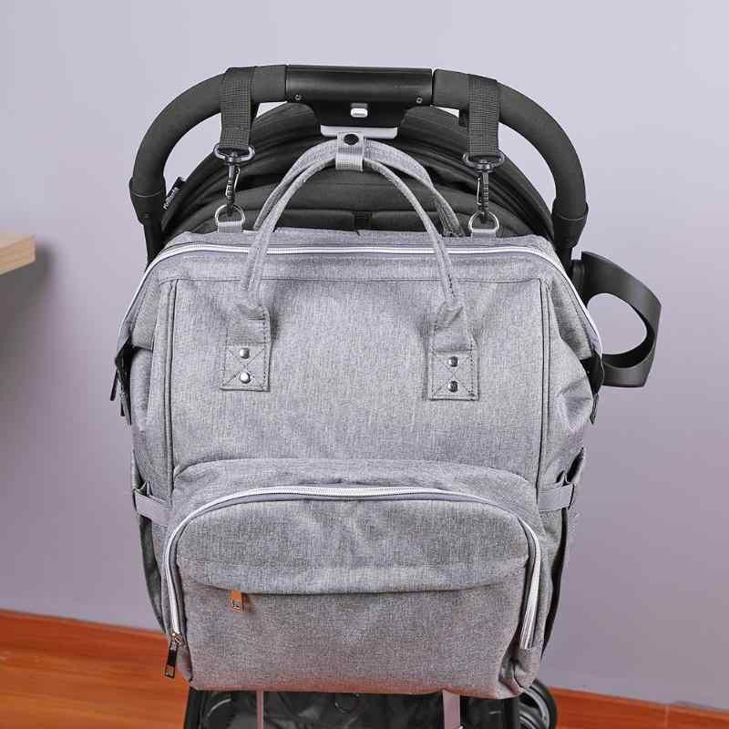 2pcs/Set Baby Stroller Hooks Kids Cart Buggy Pushchair Mummy Bag Hanger Hook Shopping Bag Hanging Clips Stroller Accessories