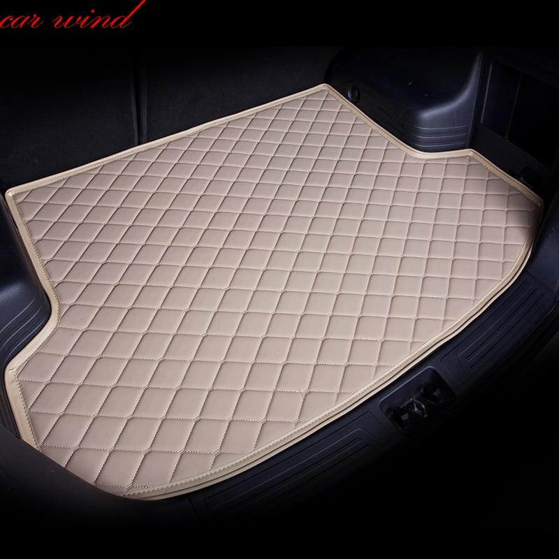 Car wind car Cargo Liner Trunk mat For Nissan Qashqai Note Murano Cube Teana Tiida Almera X-trail sunny Juke Car Accessories